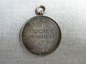 Silver Medal -- Naini Tal Gymkhana -- Hockey -- 1913 -- India -- Nainital