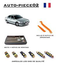 Pack FULL LED intérieur pour Peugeot 406 ( Berline et Coupé )