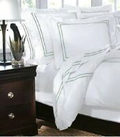 Embroided Duvet Cover Full/Queen Craft Green Home Decorators Collection