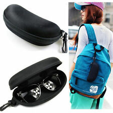 Black Sunglasses Reading Glasses Carry Case Bag Hard Zipper Box Travel Pack YS