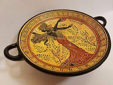 Terpsichore Greek Goddess Rare Hellenic Ancient Art Pottery Tray Kylix