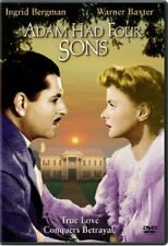 Adam Had Four Sons (1941) DVD Ingrid Bergman *New & Sealed* Region 1