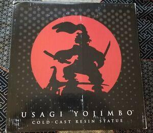 Dark Horse USAGI YOJIMBO & SPOT Statue Signed Sketch Stan Sakai Samurai NEW