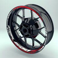 Felgenaufkleber Felgenrandaufkleber  Wheelsticker Motorrad Honda CBR600RR Set