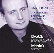 """Dvorak: Symphony No. 9 """"From The New World"""" / Martinu: Symphony No. 2 - Music"""