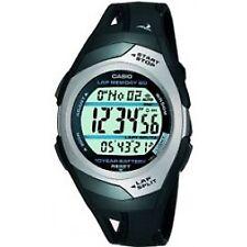 Casio Unisex Phys Sports Running Watch - Black Str 300