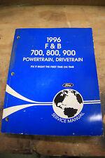 1996  FORD  F&B 700 800 900 HD TRUCK  Powertrain/ Drivetrain shop manual  in VGC