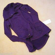 Lululemon Gratitude Wrap Jacket Heathered Deep Zinfandel Purple Size 12