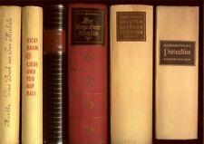 6 Bücher Weltliteratur Klassiker:Paracelsus,Kristin Lavrans Tochter,Rot+schwarz