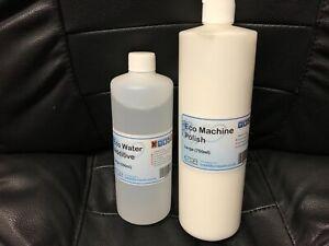 ECO CLEVER MACHINE POLISH 750ml & WATER ADDITIVE 500ml TDR TOTAL DISC REPAIR
