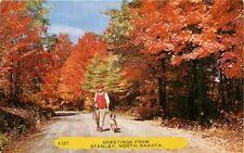 Picture Postcard>>North Dakota, Stanley