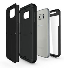 Unbranded/Generic Rigid Plastic Mobile Phone Cases, Covers & Skins for Samsung Galaxy S6 with Kickstand