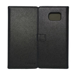 Nevox ORDO Book Cover Handyhülle Schutzhülle Samsung Galaxy S6 Edge Plus schwarz