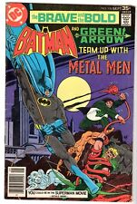 Brave and Bold #136 Featuring Batman, Green Arrow & Metal Men, Fine Condition'