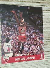 MICHAEL JORDAN Autographed vintage HOOPS 8X10 Photo..Chicago Bulls