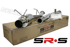 """JDM N1 STYLE CATBACK EXHAUST FOR NISSAN 89-94 240SX S13 FULL 3"""""""