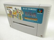 THE KING OF DRAGONS Cartridge GOOD Condition Super Famicom Nintendo sfc