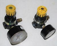 2-Speedair 1Z838D Pneumatic Pressure Regulator 1/4 NPT 250 PSI Max