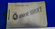 Senior Service  Cigarette  Card  Album Pattreiouex (TB)