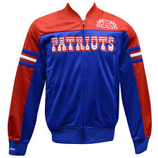 New England Patriots Mitchell & Ness Defenseman Track Jacket XL