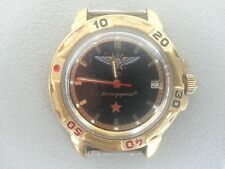 "Russian Watch Vostok Wostok ""Commander"" . ARMY .  Date Calendar ."