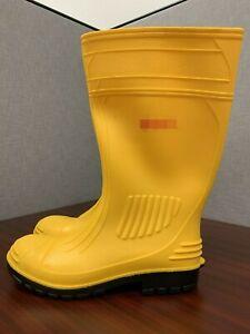 MEN PVC Chemical-Resistant Steel Toe Men's Work Boots
