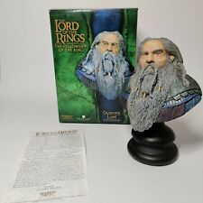 SIDESHOW WETA LORD OF THE RINGS DWARVEN LORD BUST LOTR LIMITED EDITION SOLD OUT
