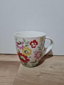 CATH KIDSTON Queens Fine China Retro Floral Print Mug Discontinued Rare