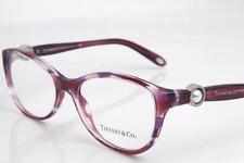 Tiffany & Co. TF 2093-H Eyeglasses Frames Ocean Pink Havana 8144 Authentic 54mm