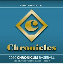 ST LOUIS CARDINALS 2020 PANINI CHRONICLES BASEBALL 4 BOX 1/4 CASE BREAK #23
