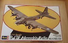 REVELL 1:72 USAF BOEING B-17E Memphis Belle Model Plane Kit # 4402 NEW 1979
