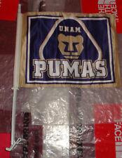 New Liga MX Futbol Bandera de Carro Pumas UNAM Soccer Team Window Car Flag $24