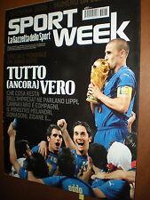 Sport Week.FABIO CANNAVARO & Co.