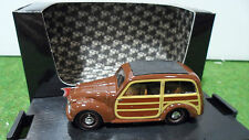 FIAT  500 C GIARDINIERA 1949 marron 1/43 BRUMM R049 voiture miniature collection