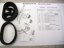 31A/MOBYLETTE ciclomotor/AV89/Bandas De Suspensión Horquilla Delantera