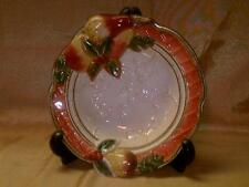 Fitz & Floyd Potpourri Dish Bowll-For All Seasons Line-Pears & Holly Fall Colors