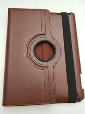 Fintie Rotating Case For iPad 4 3 2 Smart Cover Stand with Wake/Sleep Brown C111