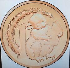 2017 1 cent coin - possum magic, features original illustration