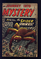 Journey Into Mystery #73 VG+ Kirby, Ditko, Spider-Man Prototype, Horror & Sci-Fi