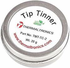 Lead Free Tip Tinner Thermaltronics Tmt-Tc-2 (20g) in 0.8oz Container Cleaner.