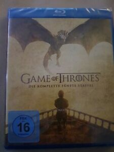 Game of thrones staffel 5 blu ray (Gebraucht)