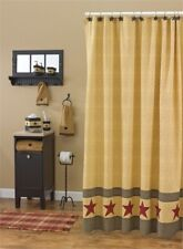 Park Designs - Country Star Shower Curtain  #373-45