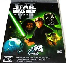 STAR WARS: Episode VI [6] - Return Of The Jedi DVD V.RARE TOP 250 MOVIES R4