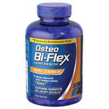 2 x Osteo Bi-Flex Triple Strength 200 Caplet 5-Loxin Glucosamine MSM 400 Total