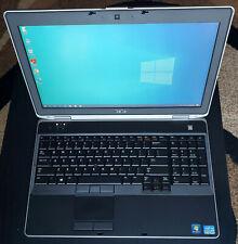 New listing Dell Latitude E6530 Laptop Core i5-3380M 2.9Ghz 8Gb Ram 320Gb Hd Office 2007
