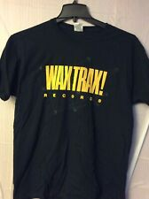 Waxtrax Records.  Shirt.  Black.  L