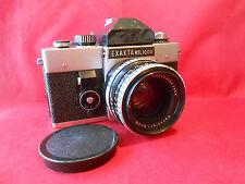 Exakta RTL 1000 Kamera mit Carl-Zeiss Pancolar 1.8/50mm