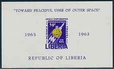 """LIBERIA #C152 """"TOWARD PEACEFUL USES OF OUTER SPACE"""" S/S IMPERF ERROR BR5317"""
