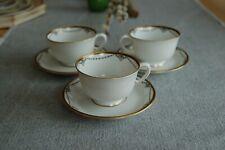 Tettau Kaffee Gedeck 3tlg Solitaire Iris Dekor 2972 Königlich pr