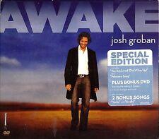 Josh Groban Special Edition cd & dvd set- Awake